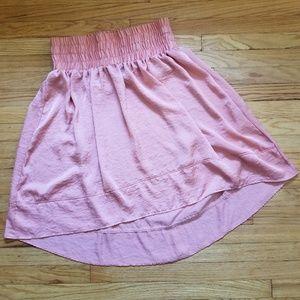Lane Bryant Hi Low Skirt Coral 18/20